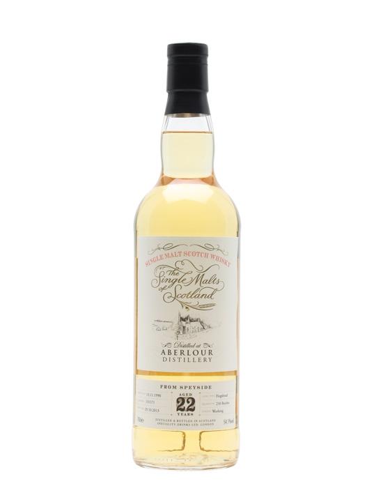 Aberlour 1990 / 22 Year Old / Single Malts Of Scotland Speyside Whisky