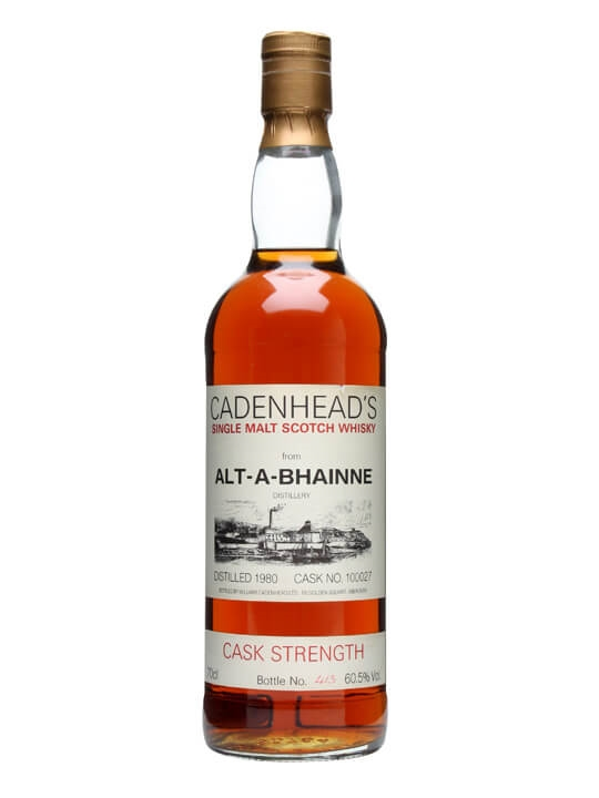 Allt-a-bhainne 1980 / Cask #100027 Speyside Single Malt Scotch Whisky
