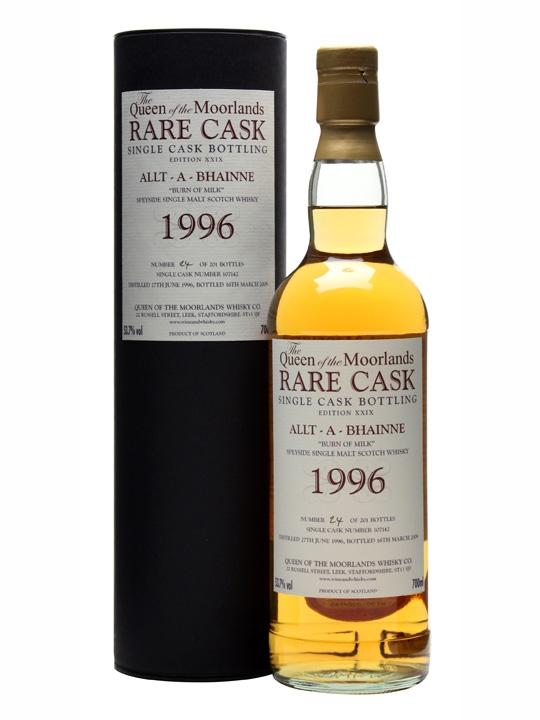 Allt-a-bhaine 1996 / 12 Year Old / Cask #107142 Speyside Whisky