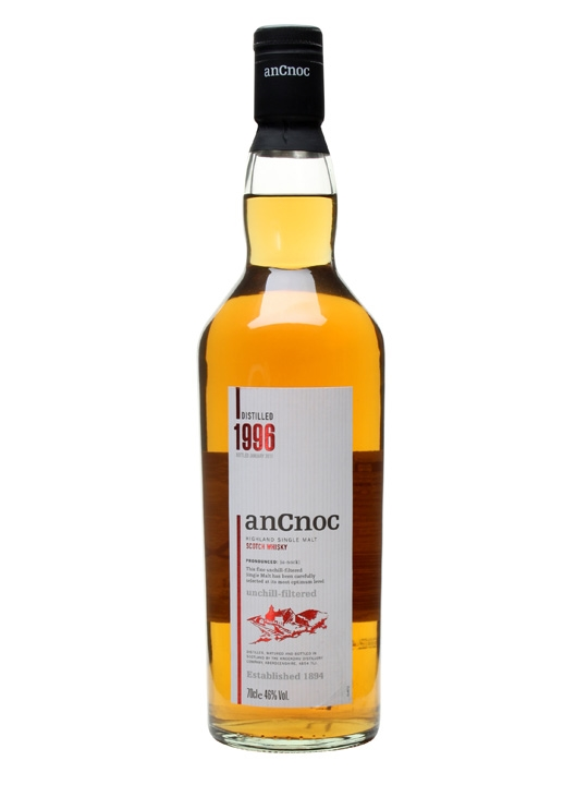 An Cnoc 1996 Speyside Single Malt Scotch Whisky