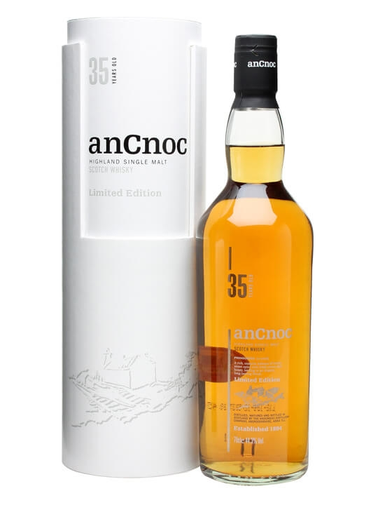 An Cnoc 35 Year Old Speyside Single Malt Scotch Whisky