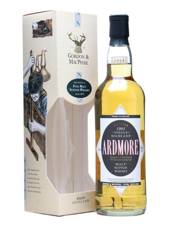 Ardmore 1993 / Gordon & Macphail Highland Single Malt Scotch Whisky