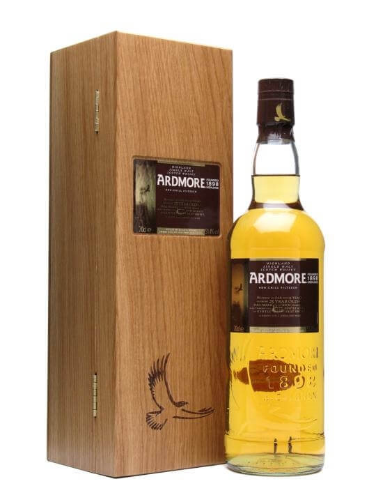 Ardmore 25 Year Old / 51.4% Speyside Single Malt Scotch Whisky