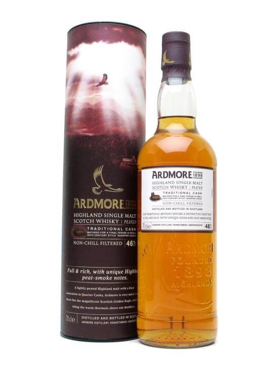 Ardmore Traditional Cask Speyside Single Malt Scotch Whisky