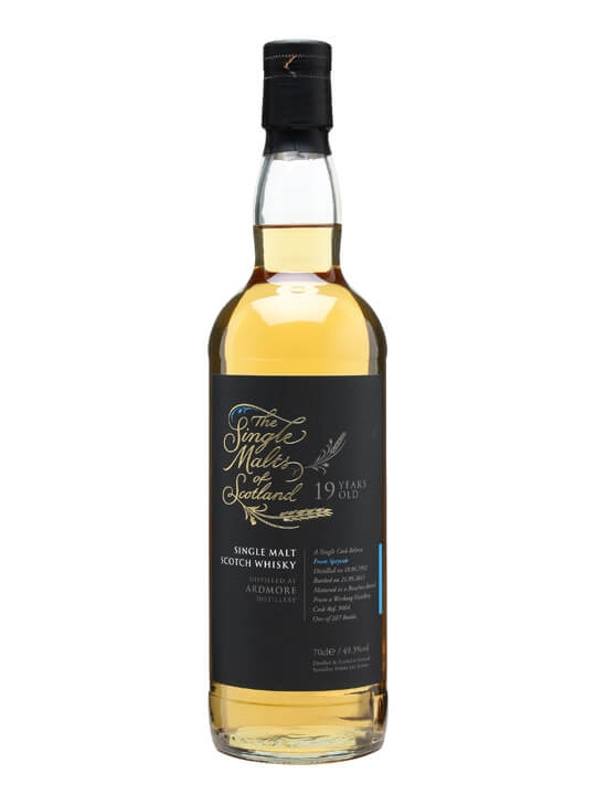 Ardmore 1992 / 19 Year Old / Single Malts Of Scotland Speyside Whisky