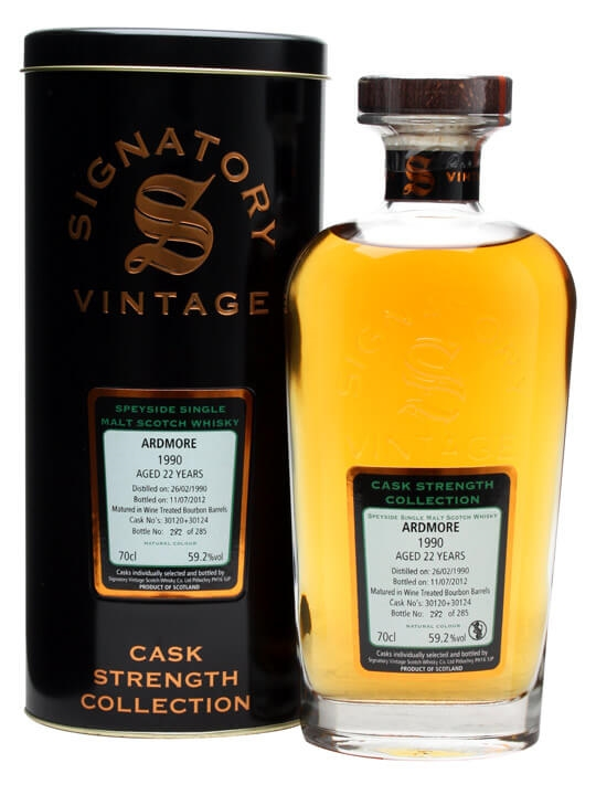 Ardmore 1990 / 22 Year Old / Cask #30120+24 Speyside Whisky