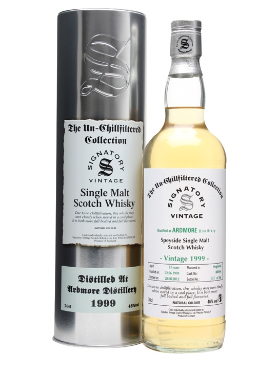 Ardmore 1999 / 13 Year Old / Cask #800164 / Signatory Speyside Whisky