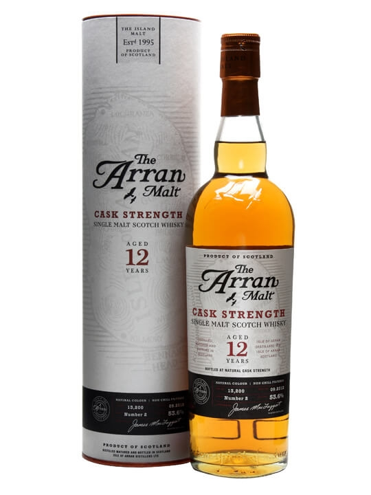 Arran 12 Year Old / Cask Strength / Batch 2 / Sherry Casks Island Whisky