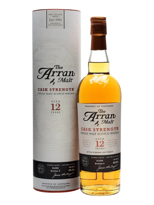 Arran 12 Year Old / Cask Strength / Batch 3 Island Whisky