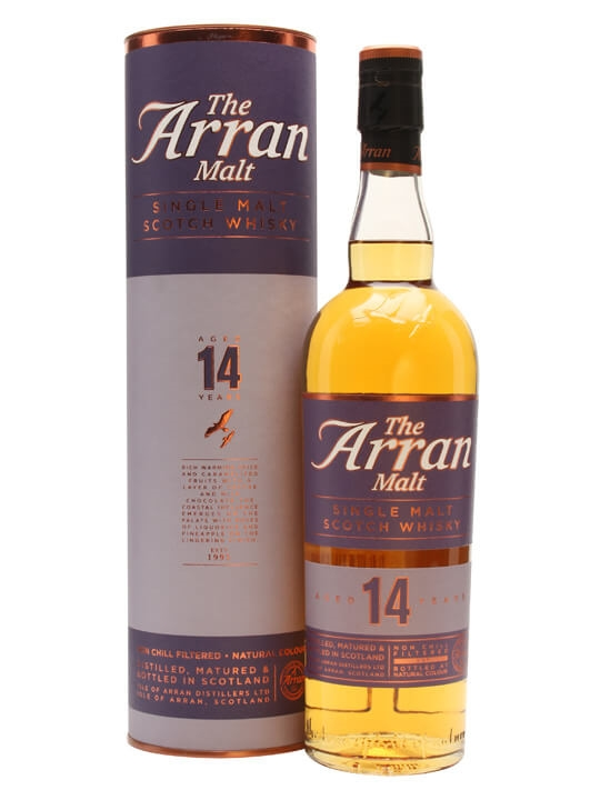 Arran 14 Year Old Island Single Malt Scotch Whisky