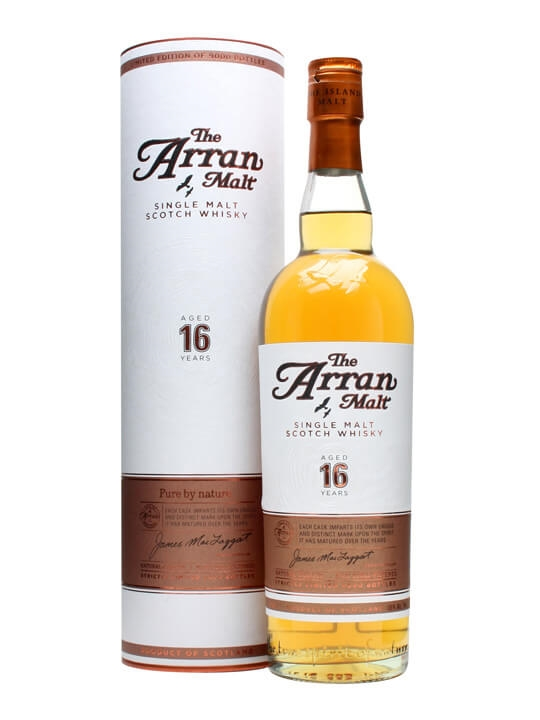 Arran 16 Year Old Island Single Malt Scotch Whisky