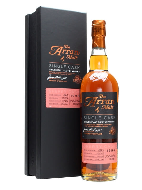 Arran 1996 / 15 Year Old / Sherry Cask #1963 Island Whisky