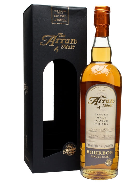 Arran 1998 / Bourbon Cask #707 Island Single Malt Scotch Whisky