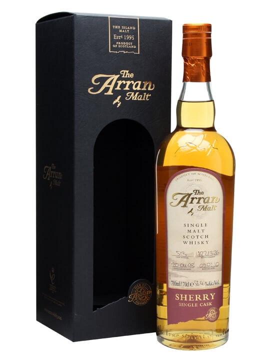 Arran 1998 / Sherry Cask #513 Island Single Malt Scotch Whisky