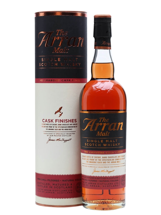 Arran Amarone Cask Finish Island Single Malt Scotch Whisky