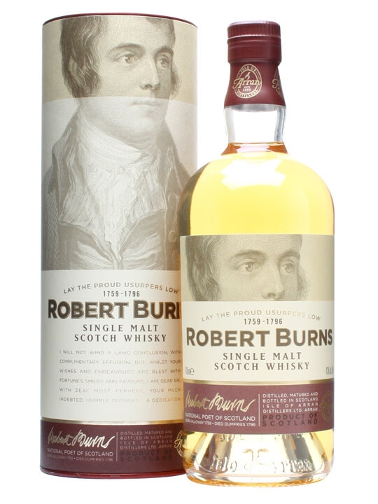 Arran Robert Burns Island Single Malt Scotch Whisky
