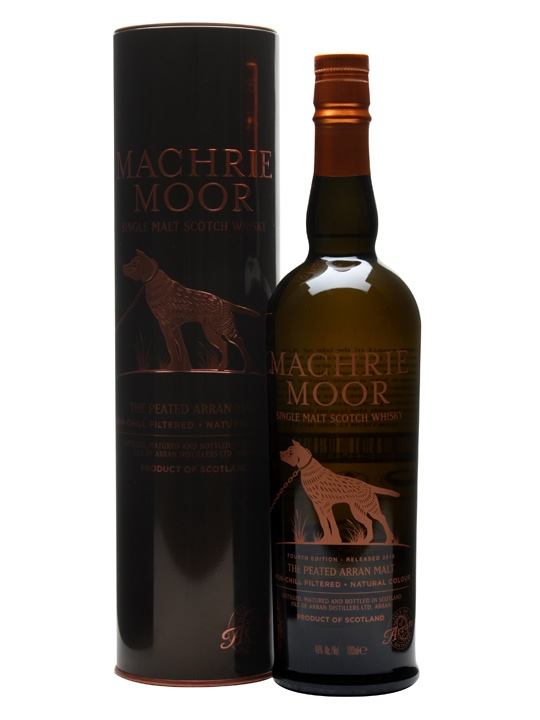 Arran Machrie Moor / Fourth Edition / Peated Island Whisky
