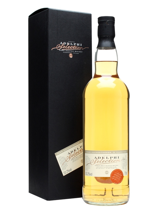 Auchentoshan 1992 / 20 Year Old / Cask #5432 / Adelphi Lowland Whisky