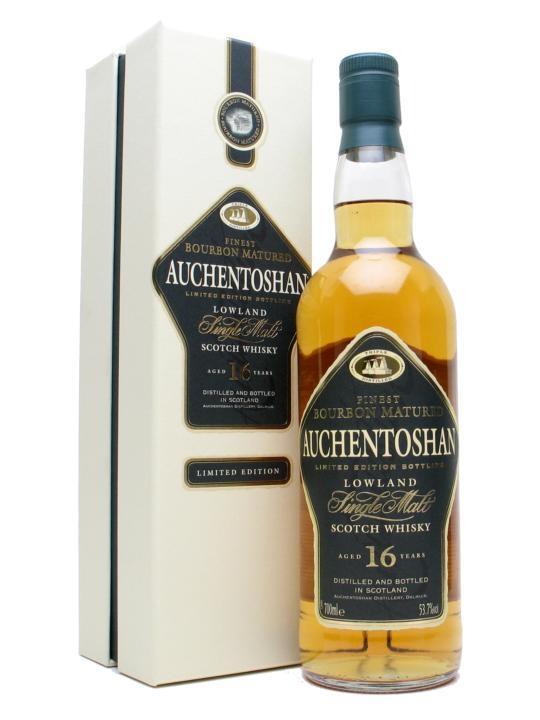 Auchentoshan 16 Year Old / Bourbon Cask Lowland Whisky