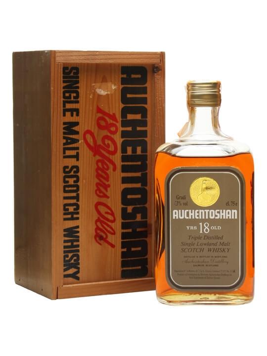 Auchentoshan 18 Year Old / Bot.1980s Lowland Single Malt Scotch Whisky