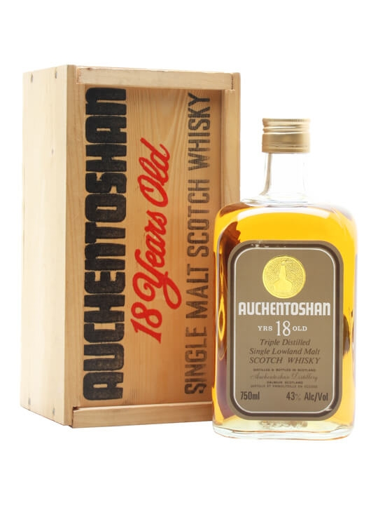 Auchentoshan 18 Year Old / Bot.1980s Lowland Single Malt Scotch Whisky