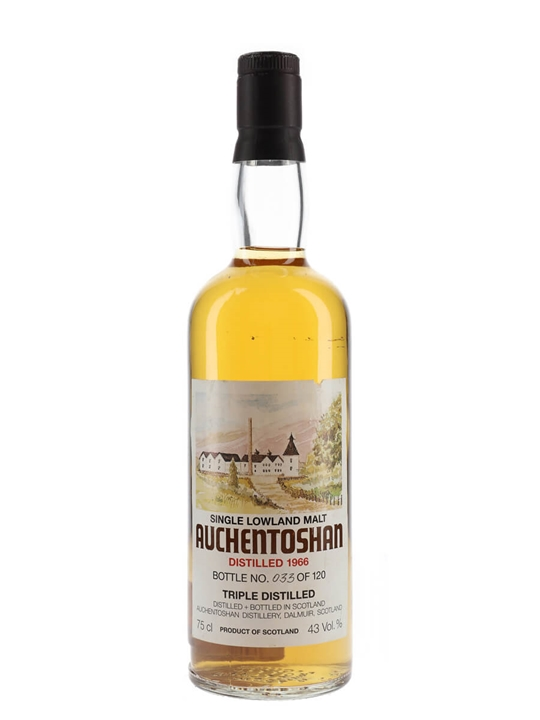 Auchentoshan 1966 / Bot.1980s Lowland Single Malt Scotch Whisky