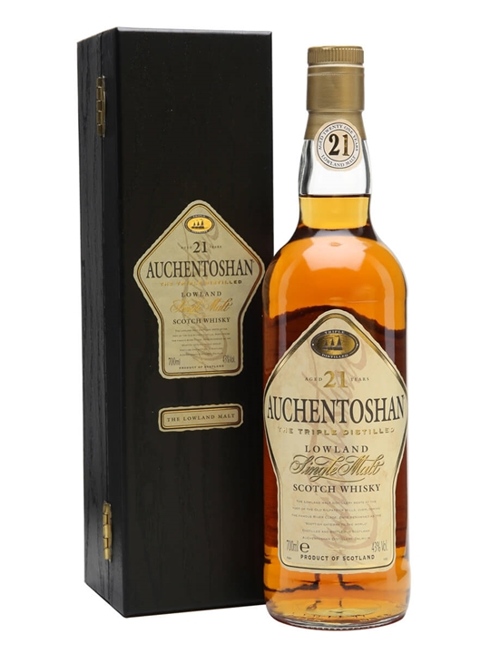 Auchentoshan 21 Year Old / Old Presentation Lowland Whisky