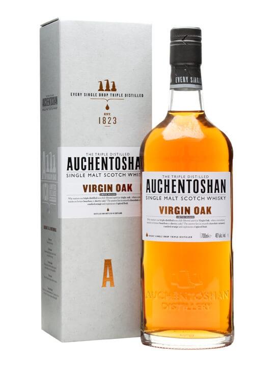 Auchentoshan Virgin Oak Lowland Single Malt Scotch Whisky