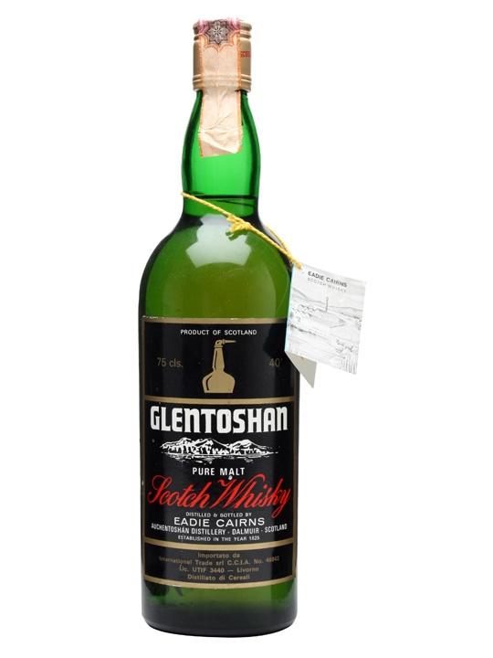 Glentoshan (auchentoshan) Pure Malt / Bot.1970s Lowland Whisky