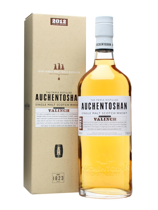 Auchentoshan Valinch / 2012 Release Lowland Single Malt Scotch Whisky