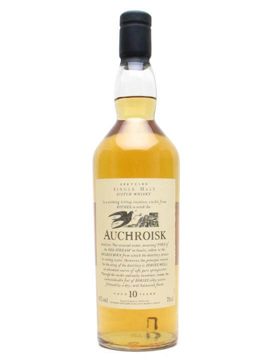 Auchroisk 10 Year Old Speyside Single Malt Scotch Whisky
