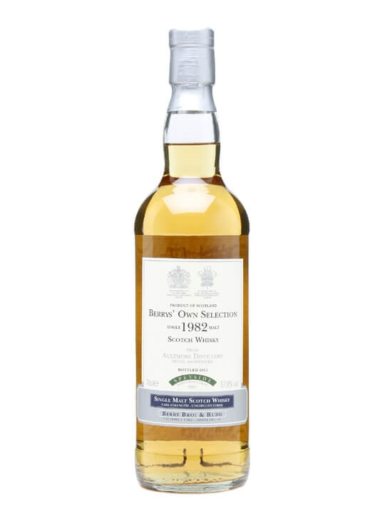 Aultmore 1982 / Berry Bros & Rudd Speyside Single Malt Scotch Whisky