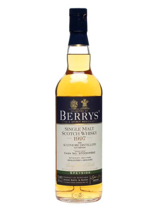 Aultmore 1997 / 15 Year Old / Cask #970003582 / Berry Bros Speyside Whisky
