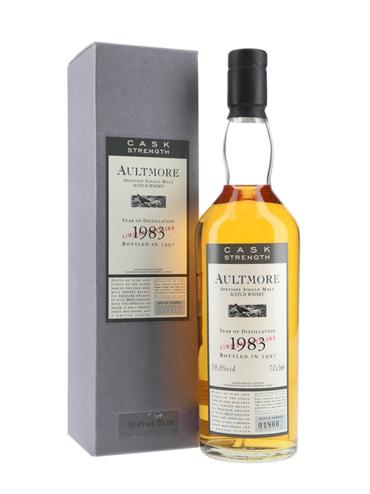 Aultmore 1983 / 14 Year Old / Cask Strength Speyside Whisky