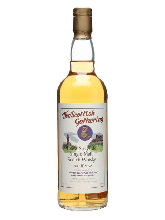 Aultmore 10 Year Old / The Scottish Gathering Speyside Whisky