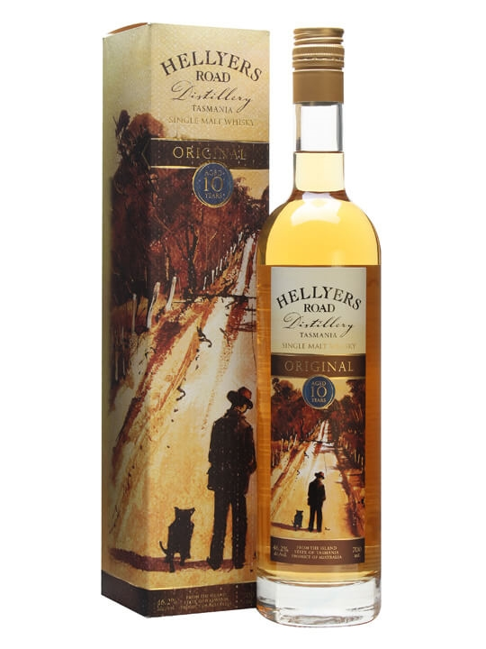 Hellyers Road 10 Year Old Original Single Malt Australian Whisky