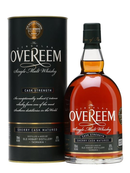 Overeem Single Malt Whisky / Sherry #032 / Cask Strength Australian Whisky