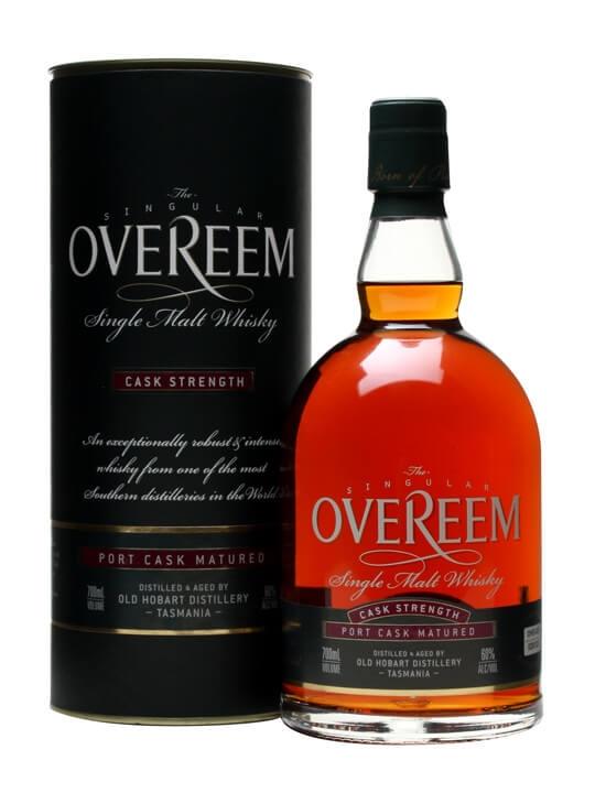 Overeem Single Malt Whisky / Port Cask #029 / Cask Strength Australian Whisky