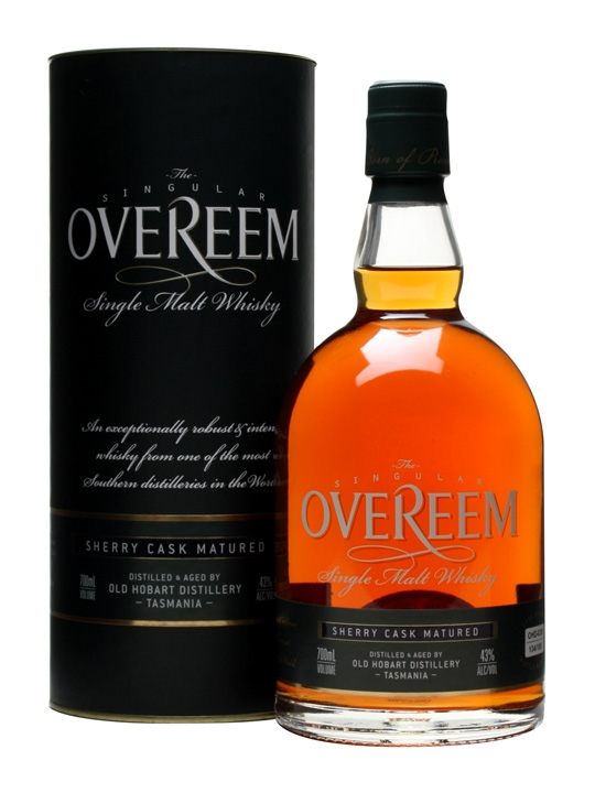 Overeem Single Malt Whisky / Sherry Cask #030 Australian Whisky