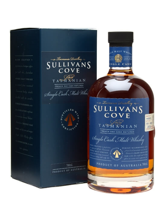 Sullivan's Cove French Oak / Single Cask Australian Single Malt Whisky