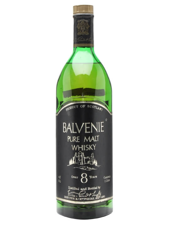 Balvenie 8 Year Old / Bot.1970s Speyside Single Malt Scotch Whisky