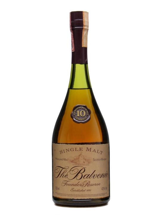 Balvenie 10 Year Old / Founders Reserve / Bot.1980s Speyside Whisky