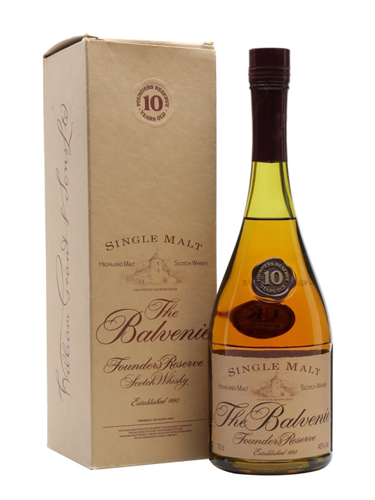 Balvenie 10 Year Old / Bot.1990s Speyside Single Malt Scotch Whisky