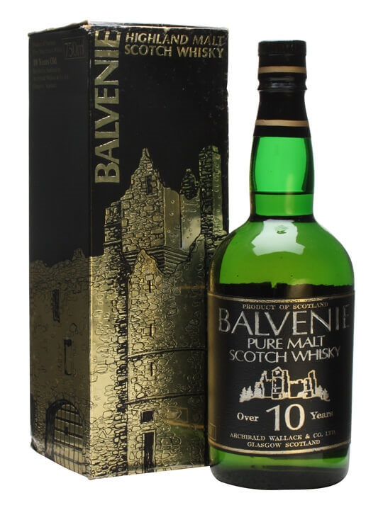 Balvenie 10 Year Old / Bot.1970s / Leather Label Speyside Whisky