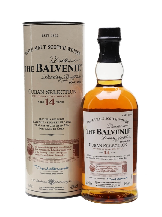 Balvenie 14 Year Old / Cuban Selection Speyside Whisky
