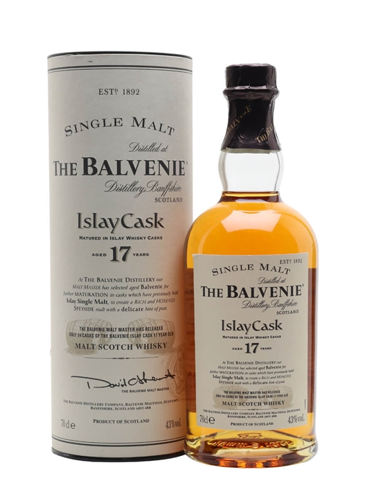 Balvenie 17 Year Old / Islay Cask Speyside Single Malt Scotch Whisky