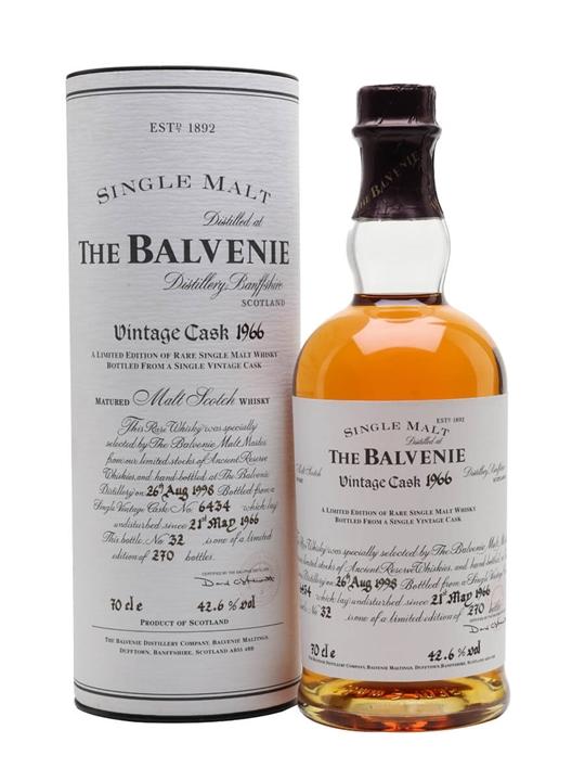 Balvenie 1966 / Cask #6434 Speyside Single Malt Scotch Whisky