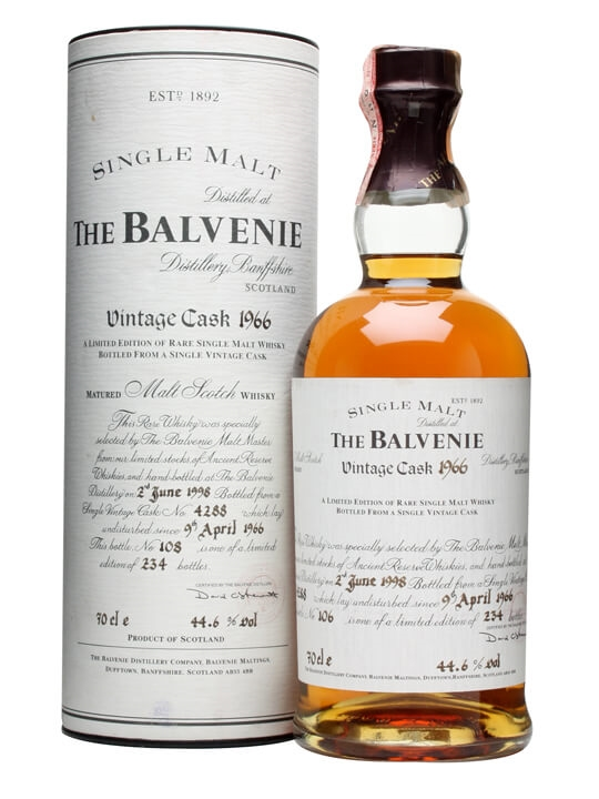 Balvenie 1966 / 32 Year Old / Cask #4288 Speyside Whisky