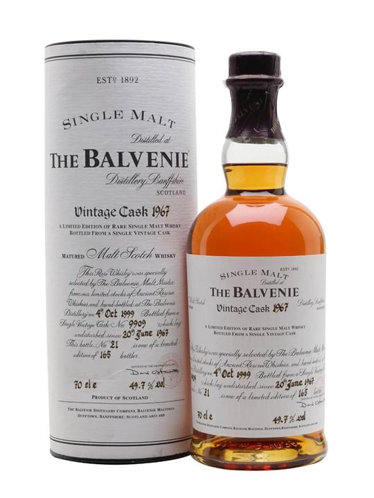 Balvenie 1967 / 32 Year Old / Cask #9909 Speyside Whisky