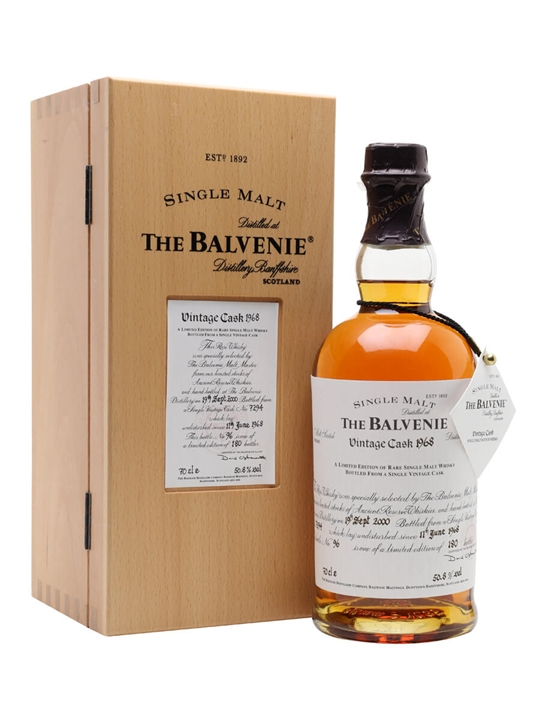 Balvenie 1968 / 32 Year Old Speyside Single Malt Scotch Whisky